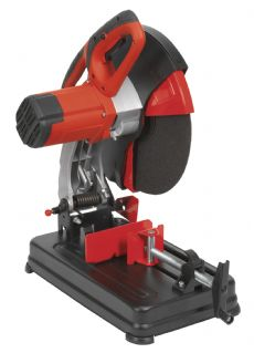 Sealey SM355D 355mm Cut-off machine with abrasive blade.